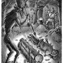 Ворса. Иллюстрация Ивана Иванова (Brein-o-flex)