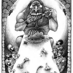 Уаиг. Иллюстрация Ивана Иванова (Brein-o-flex)