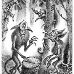 Шурале. Иллюстрация Ивана Иванова (Brein-o-flex)