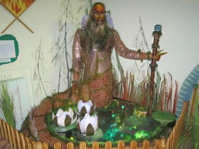 Статуя-кукла водяного Вакуля в Коми-пермяцком краеведческом музее имени П.И. Субботина