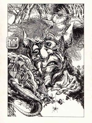 Лозовик. Иллюстрация Михаила Чернодедова