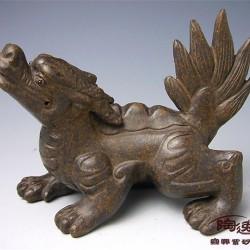 Чайная фигурка одного из сыновей дракона — Чжаофэна