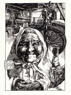 Домовуха. Иллюстрация Михаила Чернодедова