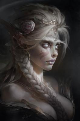 Белая принцесса. Иллюстрация Дмитрия Прозорова