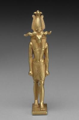 Храмовая статуэтка бога Херишефа
