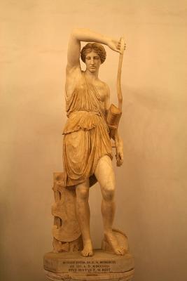 Раненая Амазонка. Копия со статуи Поликлитуса