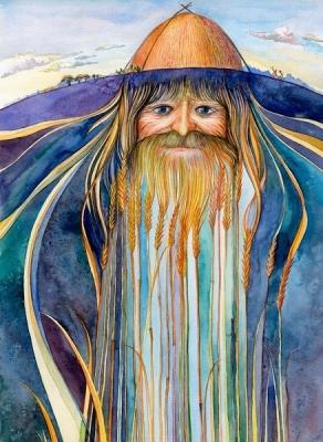 Жыцень. Иллюстрация Юрия Подвербного (Irgik)