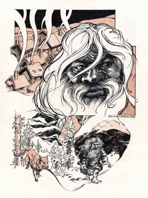 Зюзя. Иллюстрация Михаила Чернодедова