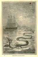 Морской змей. Рисунок Ганса Эгидиуса