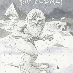 Барбегази. Рисунок Сэма Уолка