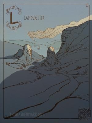 Ланд-вайхтр. Иллюстрация Томаса Денмарка