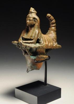 Статуэтка богини Серкет. Период Птолемеев, 305-30 годы до н.э.