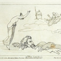 Бриарей. Гравюра Томмазо Пироли по рисунку Джона Флэксмана (1795)