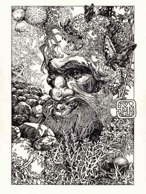 Полевик. Иллюстрация Михаила Чернодедова