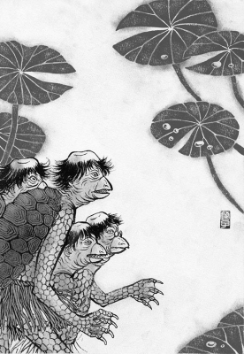 Каппы. Иллюстрация Юко Симидзу