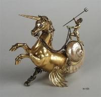 Гиппокампус или морской единорог. Декоративный сосуд начала XVII века