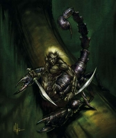 Scarrow (Scorpion Drider) by Mitch Cotie