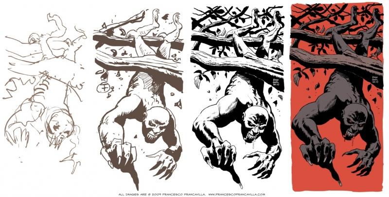 Асанбосам. Иллюстрация Франческо Франкавиллы