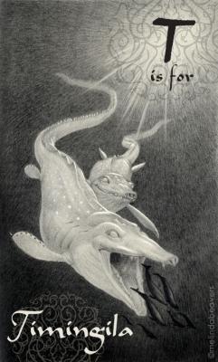 Тимингила. Рисунок Мелинды Биверс