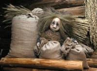 Амбарник. Кукла работы Татьяны Калининой
