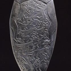 Оксфордская палетка. Реверс. Нехен, Египет. 3150 г. до н.э. (Эшмоловский музей, E3294)