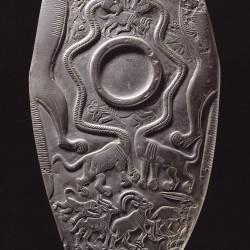 Оксфордская палетка. Аверс. Нехен, Египет. 3150 г. до н.э. (Эшмоловский музей,  E3294)