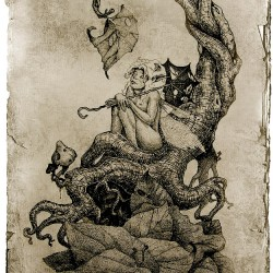 "Осень. Иллюстрация Александра ""Sumerky"" Шалдина"