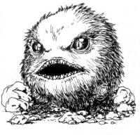 "Барбегази из мира Ведьмака. Рисунок к проекту ""Wiedźmin: Gra Wyobraźni"""
