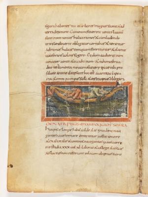 Серра. Рукопись Городской библиотеки Берна (Cod. 318, fol.18v)