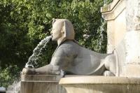 Сфинкс фонтана дю Пальмер в Париже