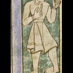 Антипод. Рукопись Бодлеянской библиотеки (MS. Bodley 614, fol. 050r.)