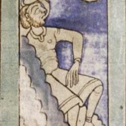 Амиктир. Рукопись Бодлеянской библиотеки (MS. Bodley 614, fol. 050v.)