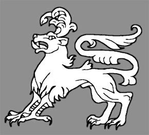 Calygreyhound. Геральдическое изображение