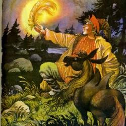 Конек-Горбунок. Иллюстрация Игоря Вышинского