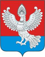 Сирин на гербе города Пучежа Ивановской области России