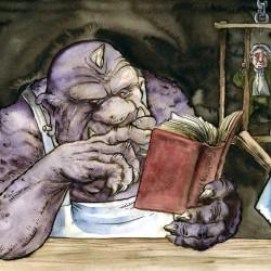 Cuisine d'Ogre. Иллюстрация Ричарда Свенссона