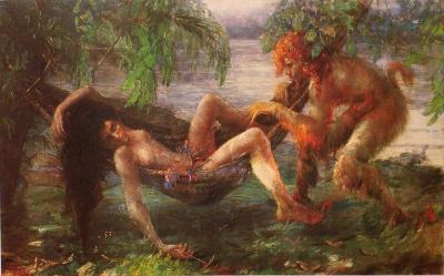 Курупира. Картина Мануэла Сантьяго (1926)