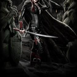 Фан-арт дхампира из Blood Rayne