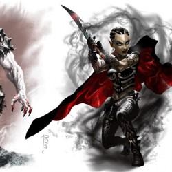 """Дхампиры """"Забытых королевств"""". Иллюстрации Эрика Дешампа (Eric Deschamps)"""
