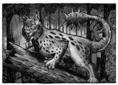 Колотопозад. Иллюстрация Ричарда Свенссона (Richard Svensson)