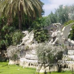 Дракон и грифон в Барселоне. Скульптуры в Parc de la Ciutadella
