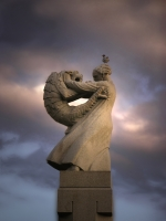 Дракон в Парке скульптур Вигеланда