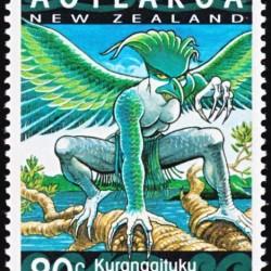 Курангаитуку на новозеландской марке