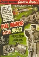 """Британский (предположительно) постер фильма """"Огненные девы из космоса"""" (Fire Maidens from Outer Space, 1956)"""