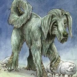 Ку-Ши. Иллюстрация Спарки Некоми