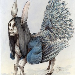 Бурак. Иллюстрация Спарки Некоми
