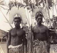 Папуасы киваи. Фото Гуннара Ландтмана, 1910-12