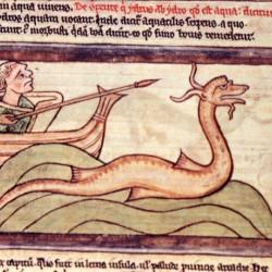 Гидрус (Рукопись Британской библиотеки MS Harley 3244, fol. 62r)
