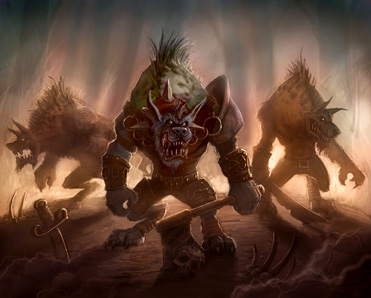 Гноллы: Hogger art (World of Warcraft)