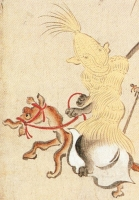 Бакэ-дзори на рисунке Мицунобу Тоса